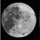 谷歌月球地图 卫星地图