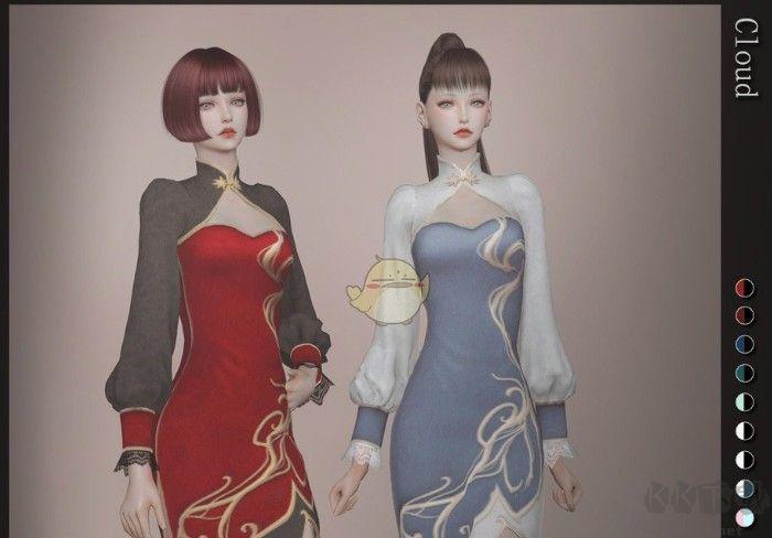 模拟人生4女性中国风旗袍MOD(附安装教程)