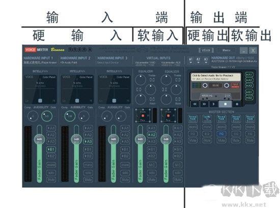 虚拟声卡驱动Voicemeeter中文版