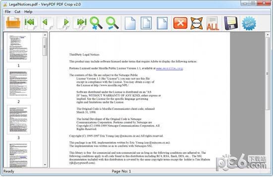 VeryPDF PDFCrop(PDF裁剪软件)