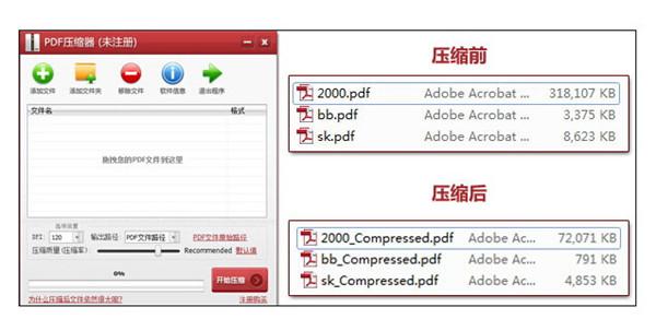 PDF压缩器破解版截图