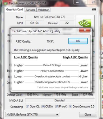 GPUZ怎么看显卡体质?GPU-Z查看显卡体质方法