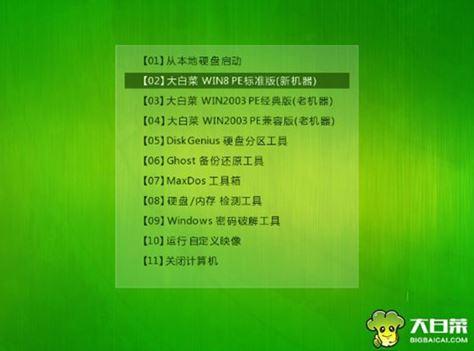 大白菜u盘装系统常见问题1
