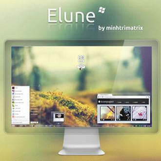 【Elune Theme】Win7透明主题 V2021免费版