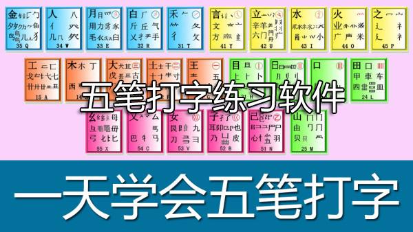 五笔打字练习软件-五笔打字练习自学软件下载大全