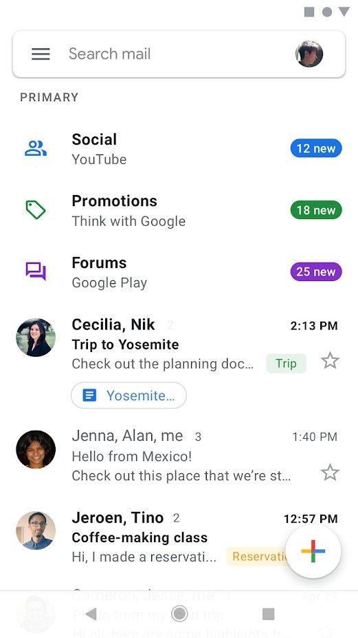 Gmail邮箱手机版