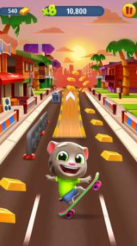 汤姆猫跑酷免费版